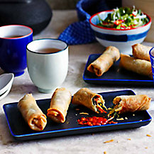 Vegetable Spring Rolls by Ching He Huang
