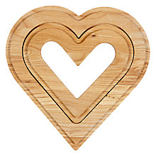 Buy John Lewis Heart Trivet, Set of 2 Online at johnlewis.com