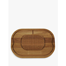 Buy John Lewis Croft Collection Oak Carving Board Online at johnlewis.com