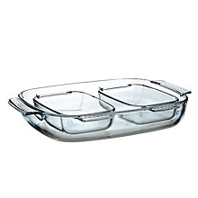 Buy Pyrex Roasters, Set of 3 Online at johnlewis.com