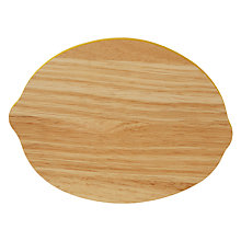 Buy John Lewis Lemon Chopping Board Online at johnlewis.com