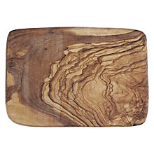Buy ICTC Olive Wood Serving Board, L20cm Online at johnlewis.com