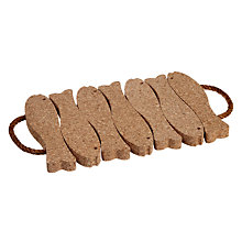 Buy John Lewis Cork Fish Trivet Online at johnlewis.com