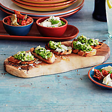Buy Pea and Broad Bean Crostini with Mint Online at johnlewis.com