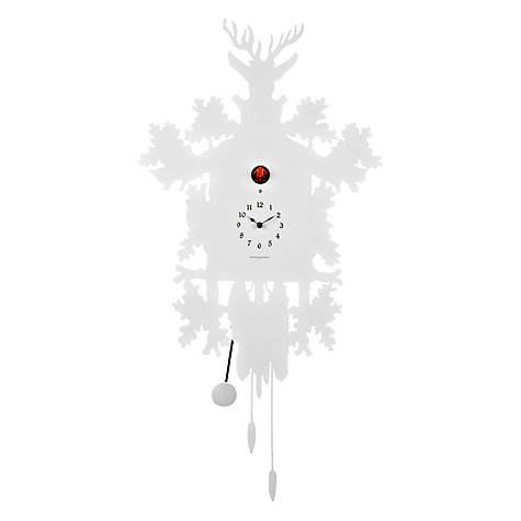 Buy Diamantini & Domeniconi Cucu Wall Clock, White, Dia.41cm Online at johnlewis.com