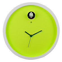 Buy Diamantini & Domeniconi Plex Wall Clock, Green, Dia.25cm Online at johnlewis.com