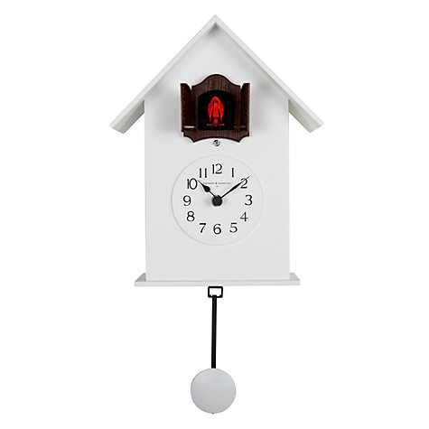 Buy Diamantini & Domeniconi Meridiana Cucu Wall Clock, White, Dia.18cm Online at johnlewis.com