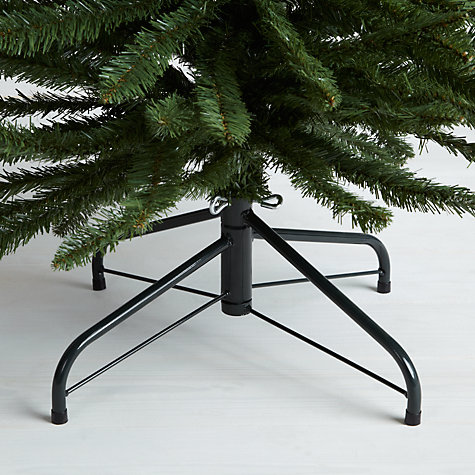 Buy John Lewis Pencil Pine Christmas Tree, Green, 7ft Online at johnlewis.com