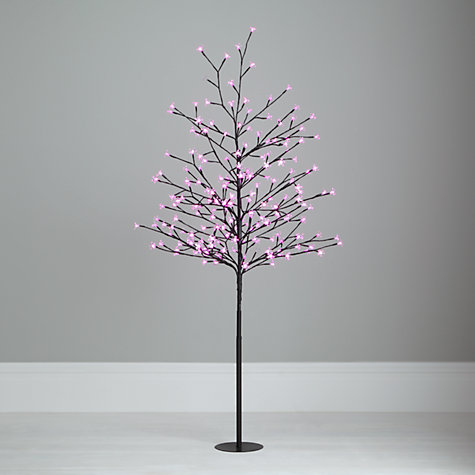 Buy John Lewis Outdoor Pre-lit Blossom Tree, 5ft Online at johnlewis.com