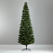 Buy John Lewis Aspen Slim Christmas Tree, Green, 8ft Online at johnlewis.com