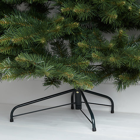 Buy John Lewis Wall Christmas Tree, Green, 7ft Online at johnlewis.com