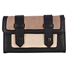 Buy Warehouse Satchel Look Purse, Stone Online at johnlewis.com