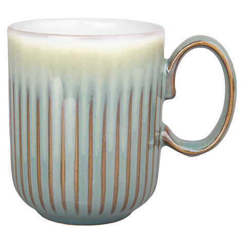 Buy Denby Regency Green Fluted Mug Online at johnlewis.com