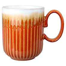 Buy Denby Fire Fluted Mug Online at johnlewis.com