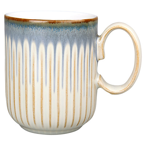 Buy Denby Linen Fluted Mug Online at johnlewis.com