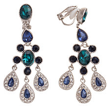 Buy Carolee Peacock Glass Crystal Chandelier Drop Earrings Online at johnlewis.com