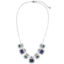 Buy Carolee Peacock Glass Crystal And Faux Pearl Front Collar Necklace Online at johnlewis.com