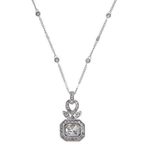 Buy Carolee Ornate Crystal Glass Pendant Necklace Online at johnlewis.com