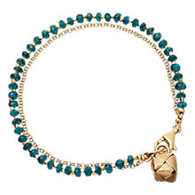 Buy Astley Clarke Biography Little Parcel 18ct Gold Vermeil Friendship Bracelet Online at johnlewis.com