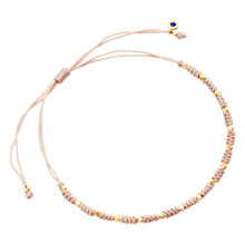 Buy Astley Clarke Biography 18ct Gold Vermeil Skinny Woven Friendship Bracelet Online at johnlewis.com