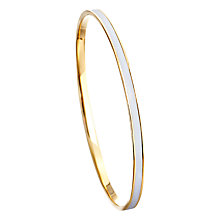 Buy Astley Clarke Colour Enamel 18ct Gold Vermeil Bangle Online at johnlewis.com