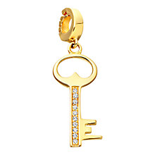 Buy Astley Clarke Charms 18ct Gold Vermeil Keep Me Safe Charm Online at johnlewis.com