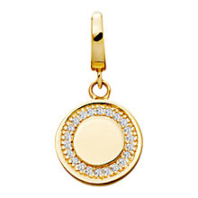 Buy Astley Clarke Charms 18ct Gold Vermeil Cosmos Charm Online at johnlewis.com