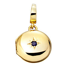 Buy Astley Clarke Charms 18ct Gold Vermeil Little Astley Locket Charm Online at johnlewis.com
