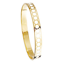 Buy Astley Clarke Colour Honeycomb 18ct Gold Vermeil Bangle Online at johnlewis.com