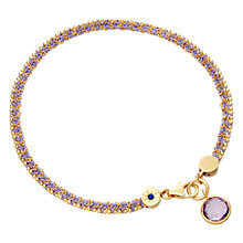 Buy Astley Clarke Biography 18ct Gold Vermeil Woven Friendship Bracelet Online at johnlewis.com