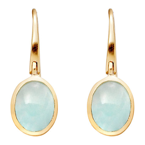 Buy Astley Clarke Colour Cadenza 18ct Gold Vermeil Earrings Online at johnlewis.com