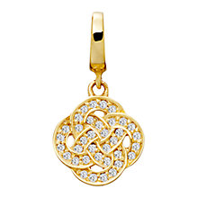 Buy Astley Clarke Charms 18ct Gold Vermeil Family Ties Charm Online at johnlewis.com