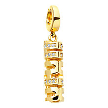 Buy Astley Clarke Charms 18ct Gold Vermeil Double Happiness Charm Online at johnlewis.com
