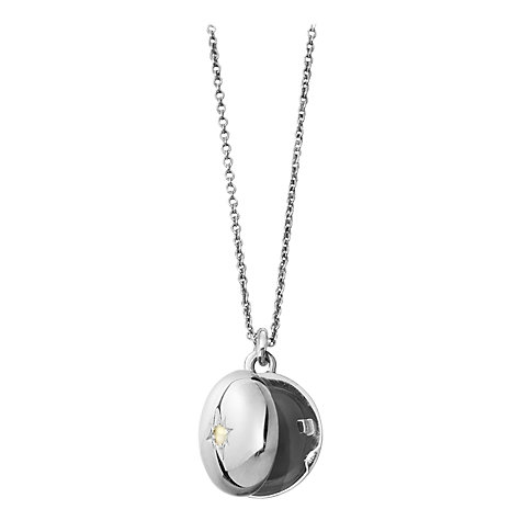 Buy Astley Clarke Silhouettes Sterling Silver Little Astley Locket Online at johnlewis.com