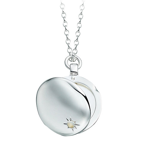 Buy Astley Clarke Silhouettes Sterling Silver Astley Locket Online at johnlewis.com