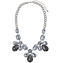 Buy COLLECTION By John Lewis Jewelled Fan Necklace, Grey Online at johnlewis.com