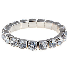 Buy COLLECTION by John Lewis Jewelled Large Stretch Bracelet Online at johnlewis.com