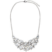 Buy COLLECTION By John Lewis Crystal Necklace, Silver Online at johnlewis.com