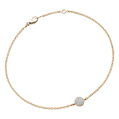 Buy Astley Clarke Muse A Little Muse 14ct Gold Bracelet Online at johnlewis.com