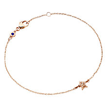 Buy Astley Clarke Muse A Little Light 14ct Rose Gold Bracelet Online at johnlewis.com