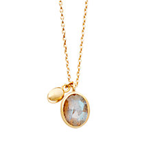 Buy Astley Clarke Colour Cadenza 18ct Gold Vermeil Pendant Online at johnlewis.com