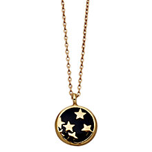 Buy Astley Clarke Colour Star Shower 18ct Vermeil Enamel Pendant Online at johnlewis.com