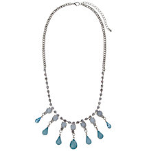 Buy COLLECTION by John Lewis Aqua Jewelled Necklace Online at johnlewis.com
