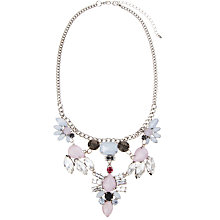 Buy COLLECTION by John Lewis Double Row Faceted Necklace, Pink Online at johnlewis.com