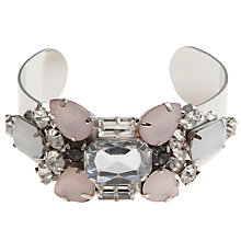 Buy COLLECTION by John Lewis Jewelled Bangle, Silver Online at johnlewis.com