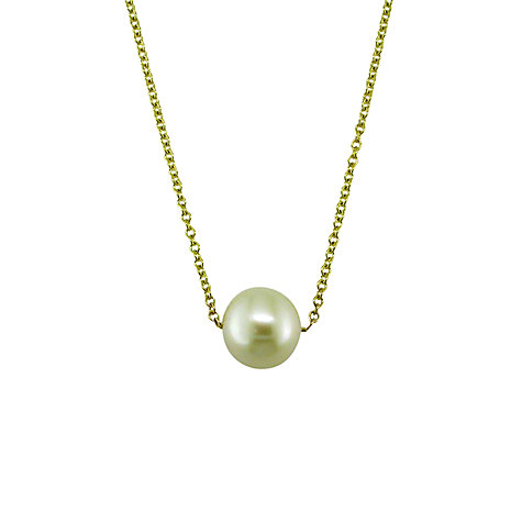 Buy EWA 9ct Gold Freshwater Pearl Pendant Online at johnlewis.com