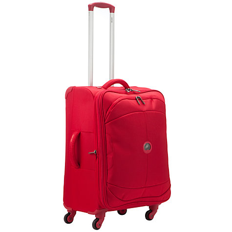 Buy Delsey U Lite 4-Wheel Expandable Medium Suitcase, Red Online at johnlewis.com