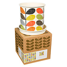 Buy Orla Kiely Scribble Stem Plant Pot, Large Online at johnlewis.com
