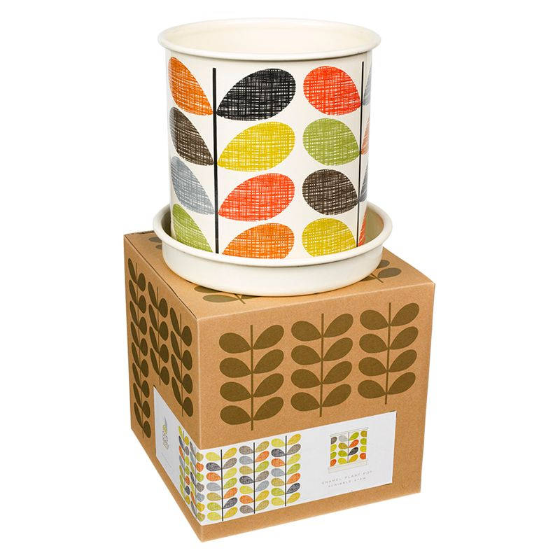 Orla Kiely Scribble Stem Plant Pot, Large