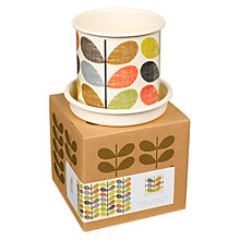 Buy Orla Kiely Scribble Stem Plant Pot, Small Online at johnlewis.com